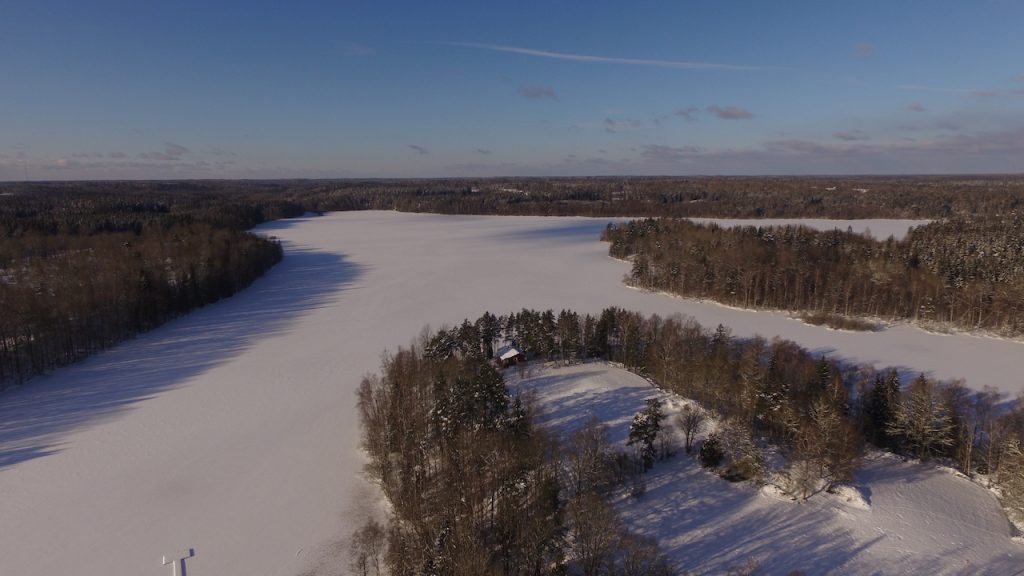 winterurlaub in schweden am see kiasjön im haus am kiasjön