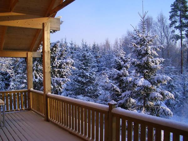 Winterferien im Haus Fuchsbau in Schweden